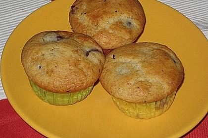 Stracciatella - Kirsch Muffins 56