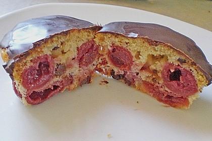 Stracciatella - Kirsch Muffins 65