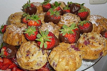 Stracciatella - Kirsch Muffins 11