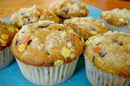 Stracciatella - Kirsch Muffins 10