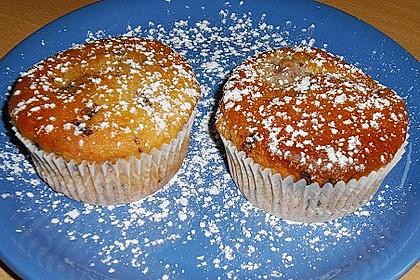 Stracciatella - Kirsch Muffins 54