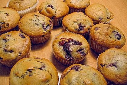 Stracciatella - Kirsch Muffins 38