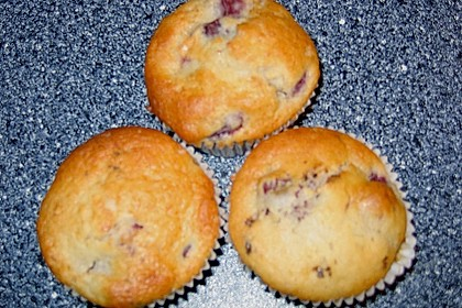 Stracciatella - Kirsch Muffins 63