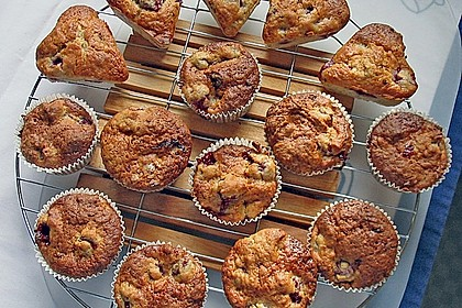 Stracciatella - Kirsch Muffins 39