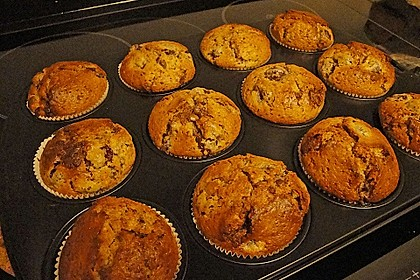 Stracciatella - Kirsch Muffins 55