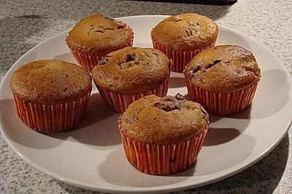 Stracciatella - Kirsch Muffins 46