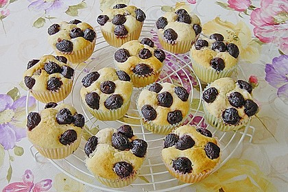 Stracciatella - Kirsch Muffins 6
