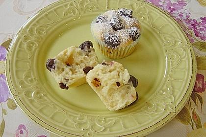 Stracciatella - Kirsch Muffins 5
