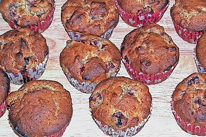 Stracciatella - Kirsch Muffins 34