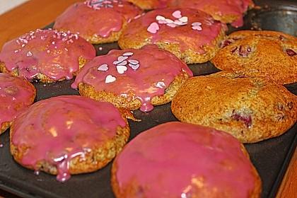 Stracciatella - Kirsch Muffins 44