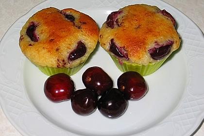 Stracciatella - Kirsch Muffins 31