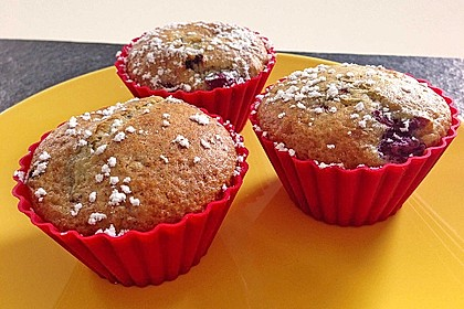 Stracciatella - Kirsch Muffins 43