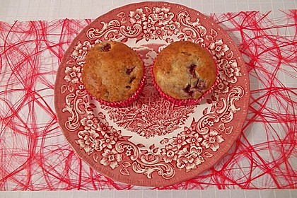 Stracciatella - Kirsch Muffins 19