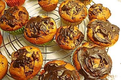 Stracciatella - Kirsch Muffins 9