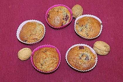 Stracciatella - Kirsch Muffins 64