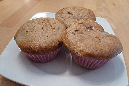 Stracciatella - Kirsch Muffins 75