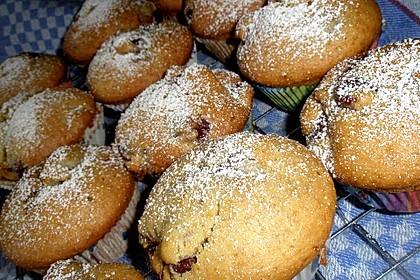 Stracciatella - Kirsch Muffins