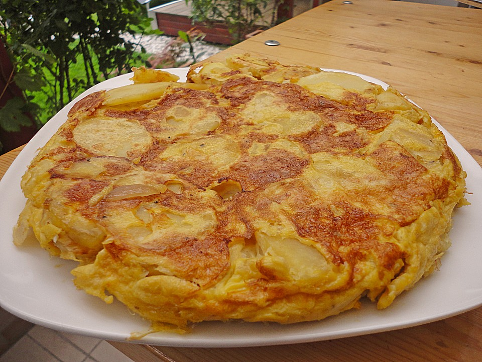 tortilla espanola rezept mit bild von sweetgina. Black Bedroom Furniture Sets. Home Design Ideas
