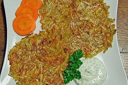 Kartoffel - Möhren - Rösti 3