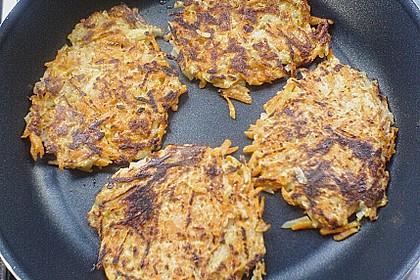 Kartoffel - Möhren - Rösti 6