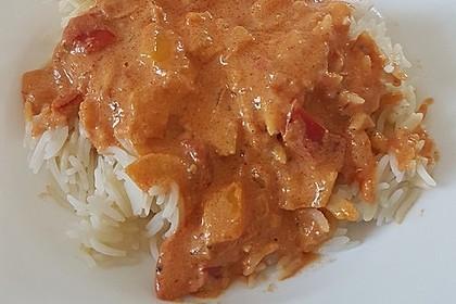 Nudeln mit Paprika - Sahne - Sauce 9