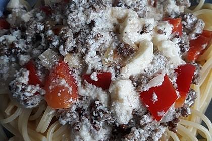 Nudeln mit Paprika - Sahne - Sauce 20