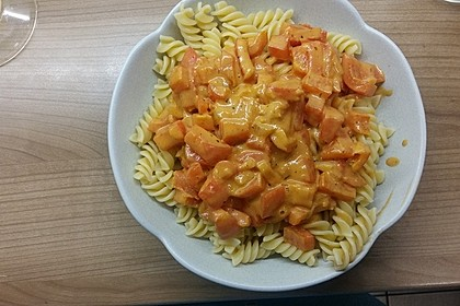 Nudeln mit Paprika - Sahne - Sauce 21