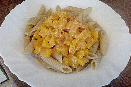 Nudeln mit Paprika - Sahne - Sauce 28