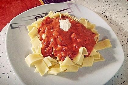 Nudeln mit Paprika - Sahne - Sauce 15