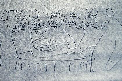 Aprikosen - Marzipan - Schichttorte 75