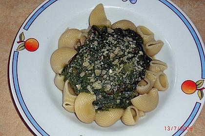 Mangold - Paprika - Soße mit Spaghetti 3