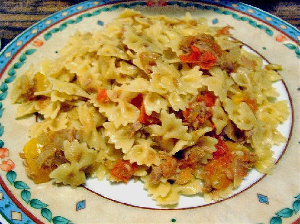 Spaghetti Al Tonno Von Etikette Chefkoch De