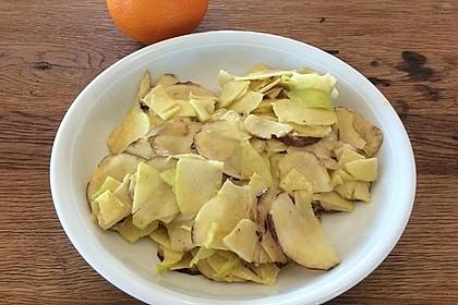 Topinambur - Apfel - Salat 1