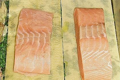 Lachs im Lasagneblatt 6