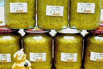 Sauerkraut einkochen 3