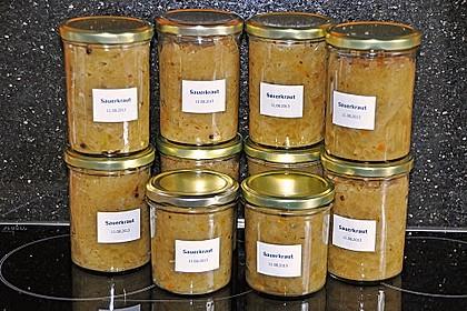 Sauerkraut einkochen 0