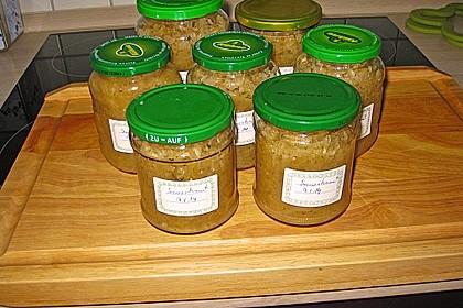 Sauerkraut einkochen 1