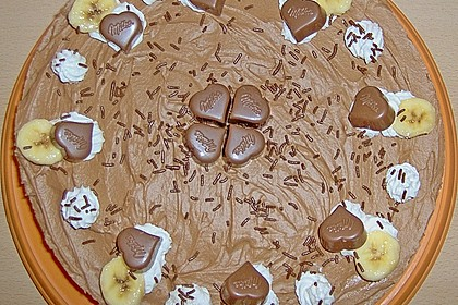 Milka - Herzen - Torte 5