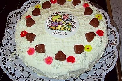 Milka - Herzen - Torte 14