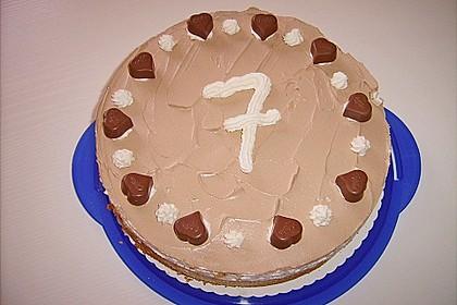 Milka - Herzen - Torte 10