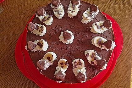 Milka - Herzen - Torte 16