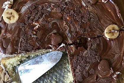 Milka - Herzen - Torte 9