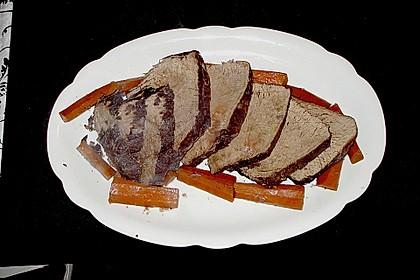 Rinderbraten mit würziger Rotweinsauce 4
