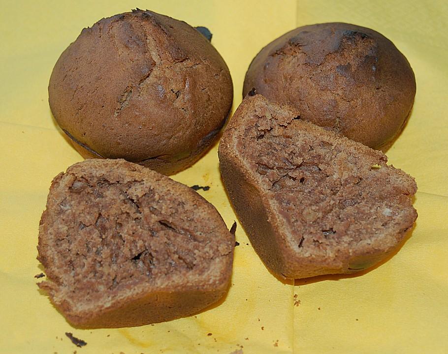 schokoladen nuss muffins rezept mit bild von staldi. Black Bedroom Furniture Sets. Home Design Ideas