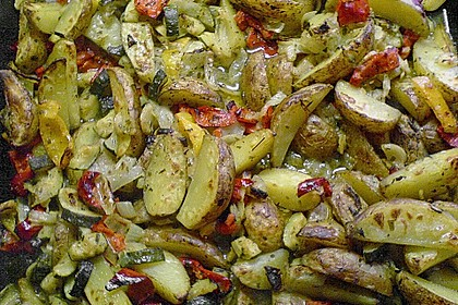 Mediterrane 24 h - Ofen - Kartoffelecken 8