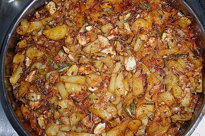 Mediterrane 24 h - Ofen - Kartoffelecken 17