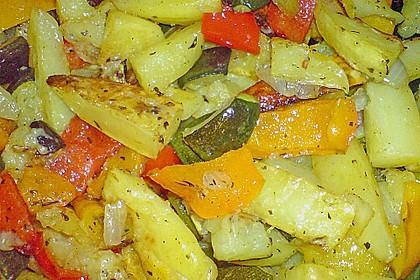 Mediterrane 24 h - Ofen - Kartoffelecken 14