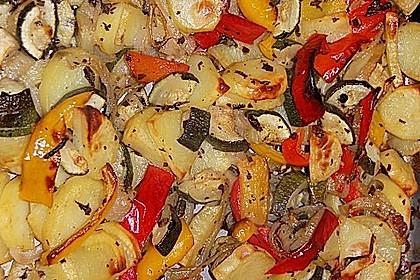 Mediterrane 24 h - Ofen - Kartoffelecken 1