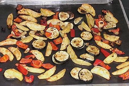 Mediterrane 24 h - Ofen - Kartoffelecken 19