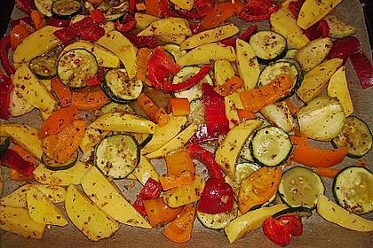 Mediterrane 24 h - Ofen - Kartoffelecken 0